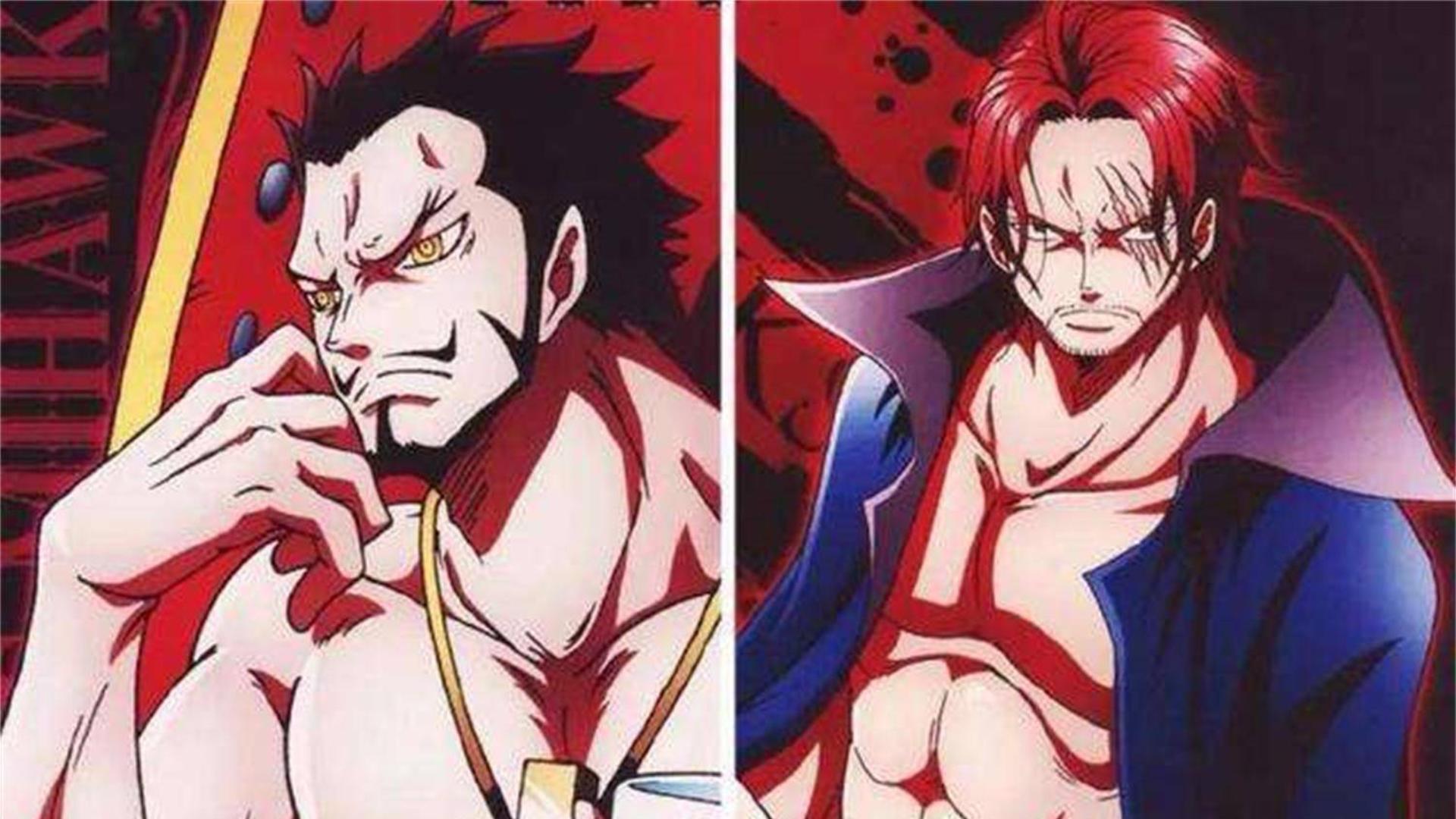 海贼王:当年红发断臂成为了难以弥补的坑,只因鹰眼的一句话