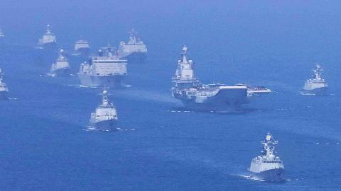 现场直击!辽宁舰航母战斗群已成规模,完整战斗力不容小觑!