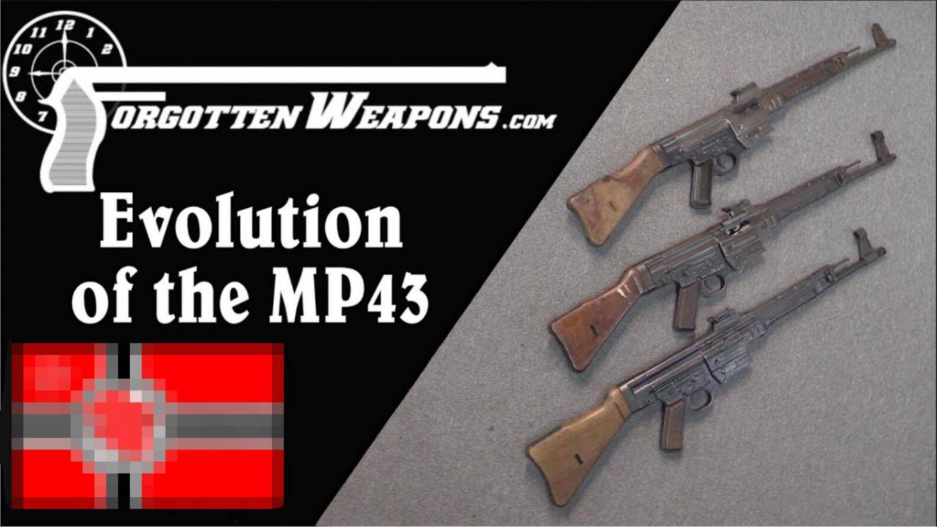 【被遗忘的武器/双语】MP44突击步枪全解P3--型号演变
