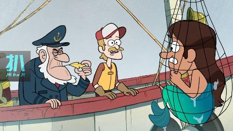 罕见美男鱼落网,船长嫌他太丑没眼看,决定卖给烤鱼店