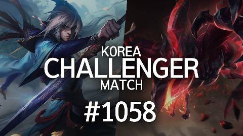 【日常蕉易】韩服最强王者的精英对决 #1058 | 乱斗局