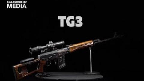【搬运/已加工字幕】TG3 9.6x53mm民用版SVD步枪 基本介绍