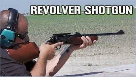 "[TAOFLEDERMAUS]试射ROSSI""巡回法官""转轮步枪/霰弹枪"