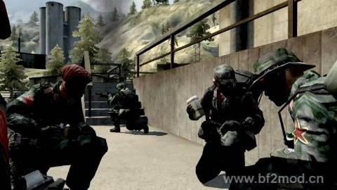 中国战地2模组资源网微电影《火线突击》
