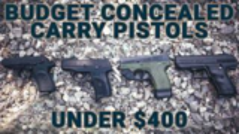 [GUNSCOM]价格不到400刀的便携手枪