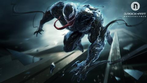DROCK丨GAGA老师:角色设计--毒液&海王&蜘蛛侠