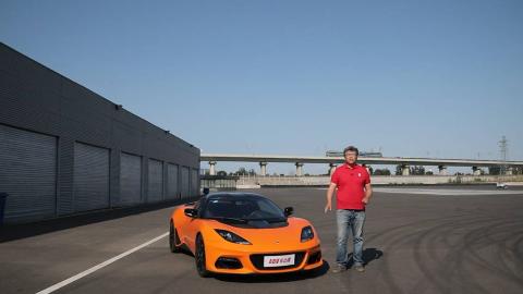 排气声浪响彻赛道 王垠试驾路特斯Evora GT410 Sport