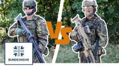MG5 vs MG3机枪(德文)