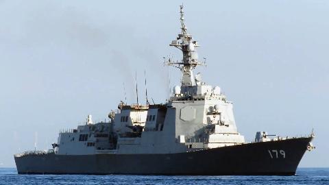 イージス艦「まや」DDG-179  9回目の海上公試