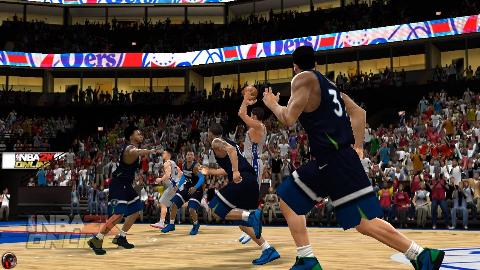 NBA2K Online 季后赛: 76人 vs 森林狼