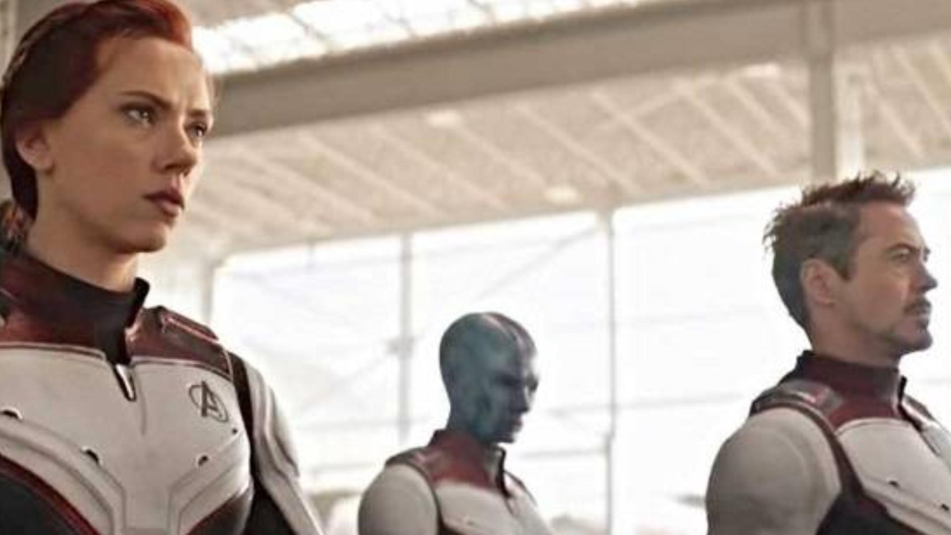 复联4未播片段(中字):托尼穿越前查看量子战衣,看出三种技术