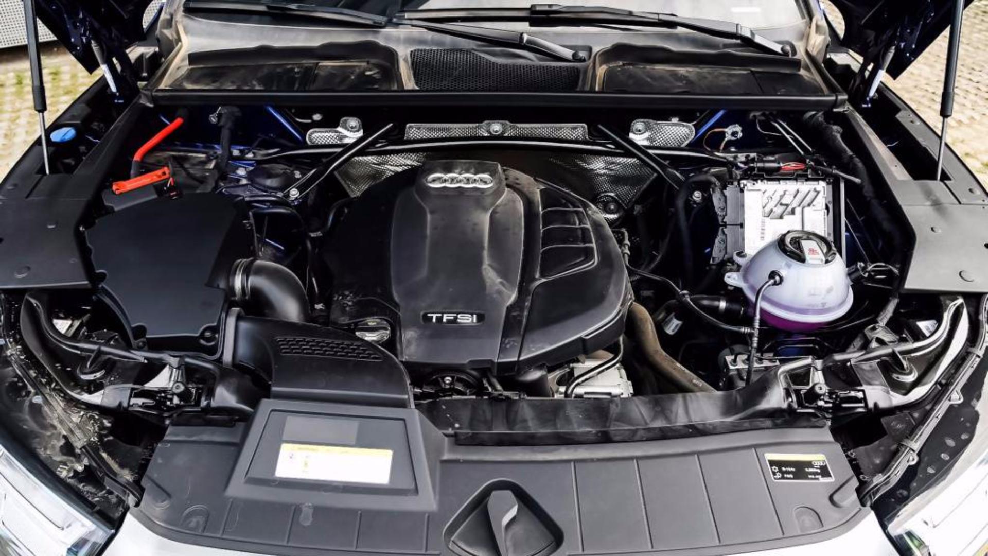 奥迪Q5L发动机抖动测试,全程平稳无严重抖动