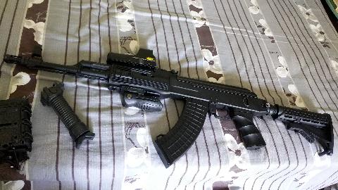 【水弹开箱】锦明J11 战术AK水弹发射器开箱