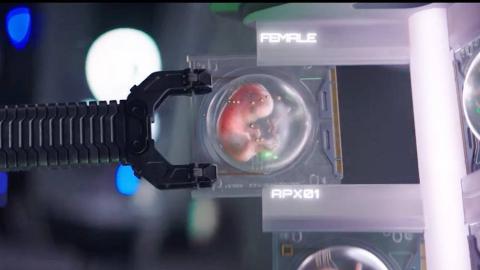 【阿斗】Netflix科幻新作!未来人类灭绝之后,由机器人重生人类《吾乃母亲》