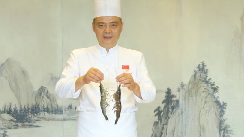 【大师的菜·葱粒焗贵虾】碧桂园行政总厨教你做一道葱粒贵虾,肉质鲜美,吃一口就停不下来!