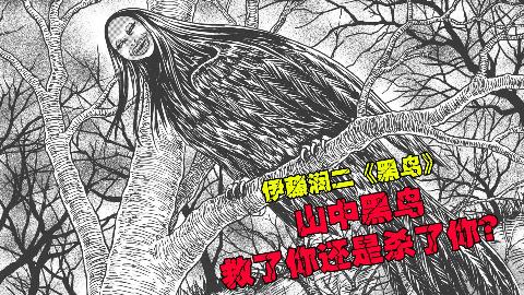 【伊藤润二】山中的黑鸟,是救了你?还是杀了你?【黑鸟】