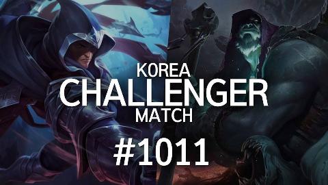 韩服最强王者的精英对决 #1011 | 为什么受伤的总是我,你这个楼某