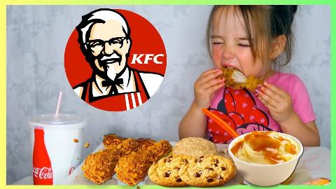 Beatrix吃播 吃KFC