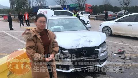 中国交通事故20190128:每天最新的车祸实例,助你提高安全意识!