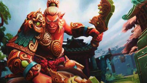 DOTA2 丛林肉搏-巨魔战将【黑暗契约+热血战魂+醉拳+海象神拳】