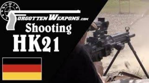 [遗忘武器]试射HK21模块化机枪