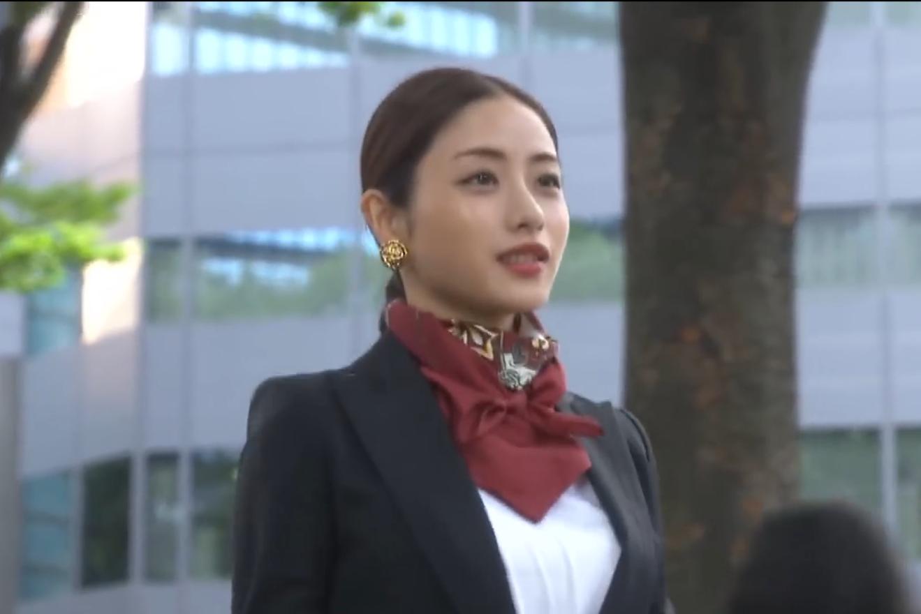 【石原里美】工作装也能穿出模特!
