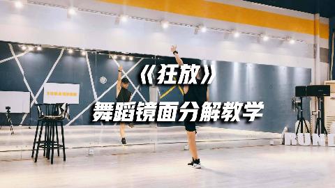 权志龙-《狂放》舞蹈镜面分解教学part1