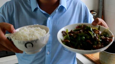 炒一盘辣椒炒鸡胗,味道很好啊,美味又下饭,成本只要七块钱?