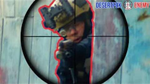 【wargame】美国玩家沙漠狐—战术后仰拿人头
