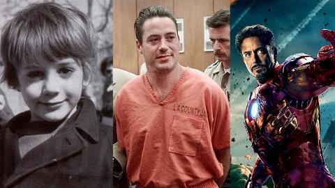 【阿斗】谁能想到钢铁侠曾是瘾君子?小罗伯特唐尼跌宕的一生