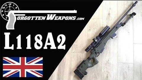 【被遗忘的武器/双语】L118A2/AW狙击步枪历史介绍