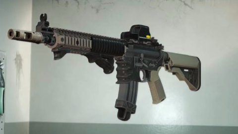 【PAYDAY2/收获日2】[MOD武器] MK18突击步枪