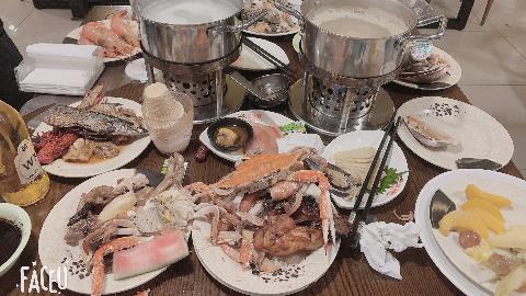 波士顿海鲜自助餐