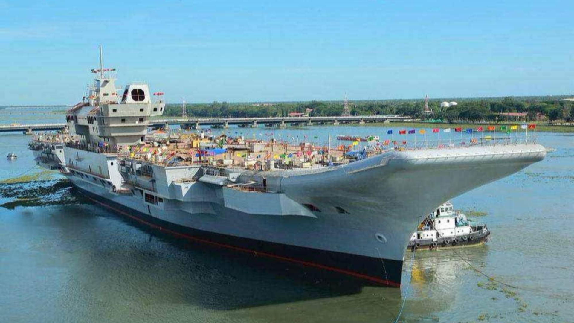 忍不了了!印度海军命令国产航母2021年必须完工不得拖延,靠谱吗?
