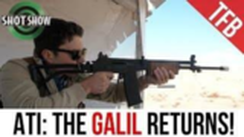 [SHOT Show 2019]ATI原版加利尔步枪
