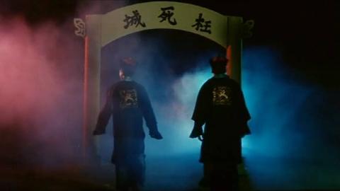 一部香港奇幻电影,两位黑道大哥,死后下地狱,还要偷渡鬼门关