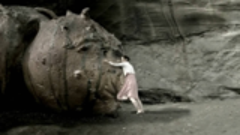 女子流落荒岛,为了满足私欲,将怪物的重要器官移接到自己身上