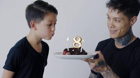 THENX小克里斯迎来8岁生日