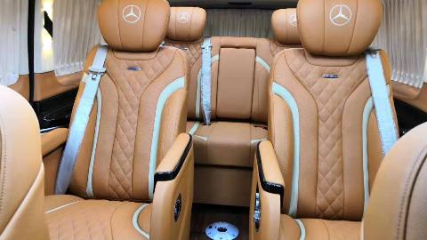 【环球小郑说车】19款奔驰威霆豪华家商两用,高性价比的头等舱享受