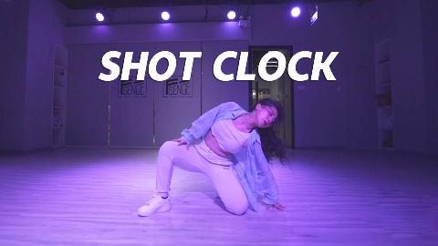 QTT编舞《SHOT CLOCK》 ,柔美性感【口袋舞蹈】