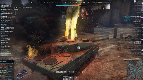 豹2A5:为什么我的炮塔还没飞?