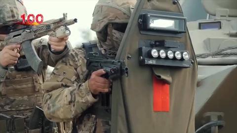 俄推销MBC防弹衣 简单粗暴实弹 此为专业训练,其他人请勿模仿