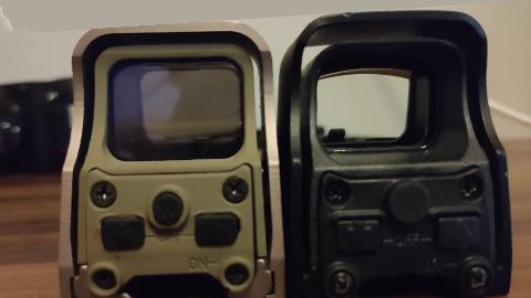 【战术陈皮】义乌瞄与原品瞄透光对比丨全息瞄装反实例