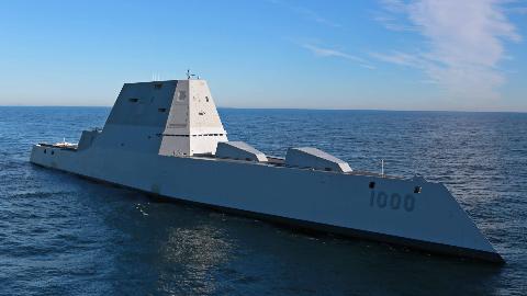 世界最强驱逐舰?排水量18000吨配备128个垂发单元,战力超越中美