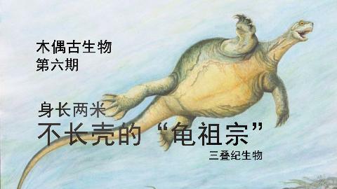 木偶古生物 第六期 龟先祖 没有壳的乌龟