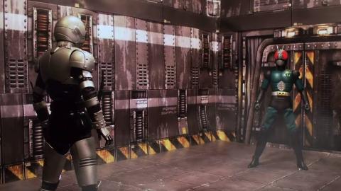 用定格动画方式打开假面骑士RX跟影月大战