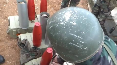 1080p:2S1榴弹炮发射宣传单炮弹