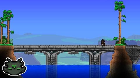 建造趣味石桥 | Terraria建筑小贴士