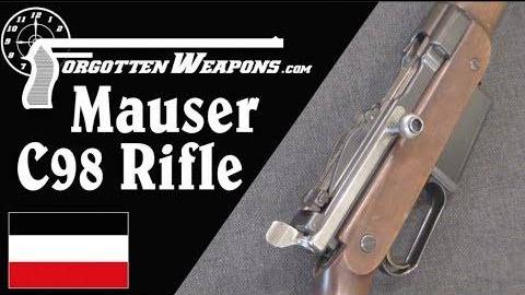 【被遗忘的武器/双语】毛瑟C98半自动步枪--它曾弄瞎了毛瑟的一只眼睛