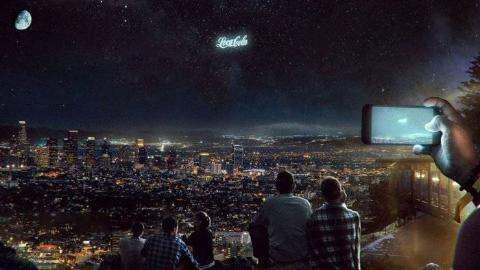 俄罗斯初创公司计划在低地球轨道上发射巨型广告牌?!